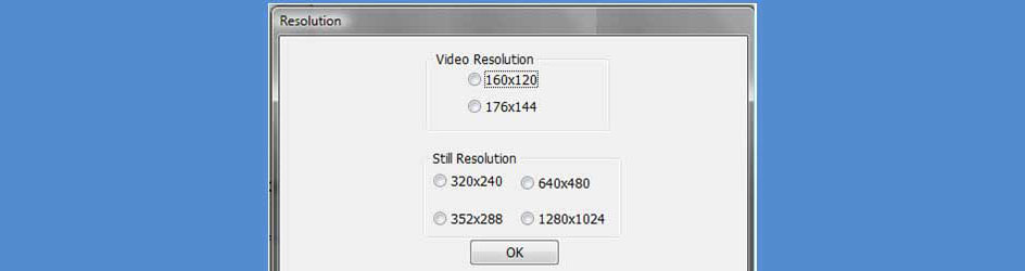 Resolution Switching in DirectShow Camera Application