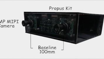 TK1 Board (Propus) streaming Dual frame synced Full HD Video