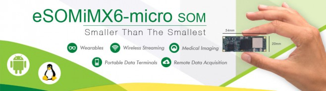 eSOMiMX6-micro ARM SOM