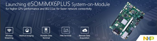 eSOMiMX6PLUS-iMX6 QuadPlus/DualPlus System on Module