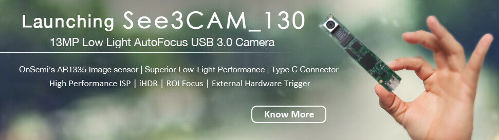 4K Autofocus USB3.1 Gen1 Camera Board (Color)