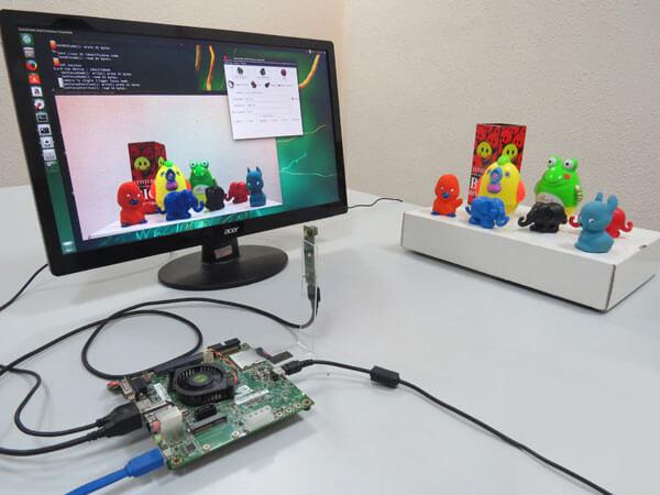 8MP USB 3.0 Camera on Jetson TK1 kit