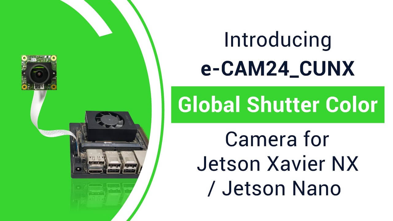 Color Global shutter Camera for NVIDIA Jetson Xavier NX/NVIDIA Jetson Nano