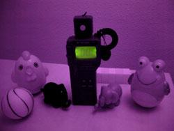 Nir camera lux meter