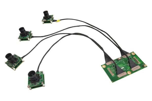 Four Synchronized 4K Cameras for NVIDIA® Jetson AGX Xavier™