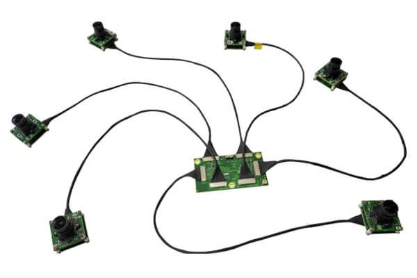 Multiple MIPI CSI-2 Cameras for NVIDIA Jetson TX2/TX1