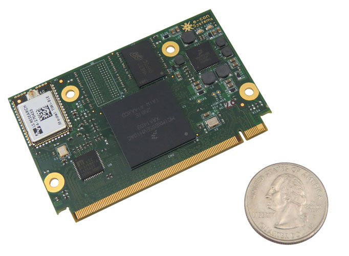Image result for The smallest Free scale System-on-Module MX6 Quad Cortex-A9 Processor Launched!