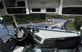 Surround view system for large trucks