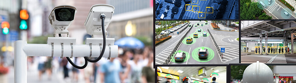 Leverage cutting-edge vision to manage pedestrians & vehicles