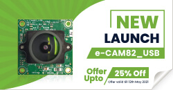 New launch e-CAM82_USB